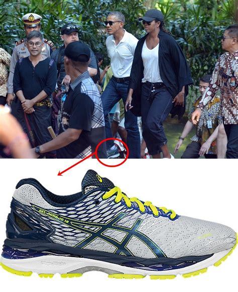 Harga Asics Nimbus 18 intip 3 sneakers obama saat jalan jalan ke indonesia