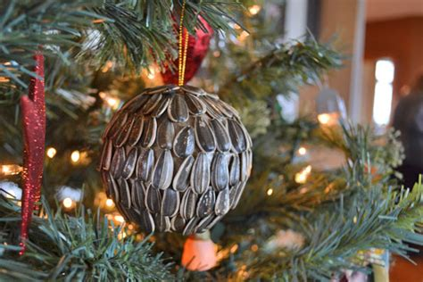 handmade natural seed holiday ornaments factory direct