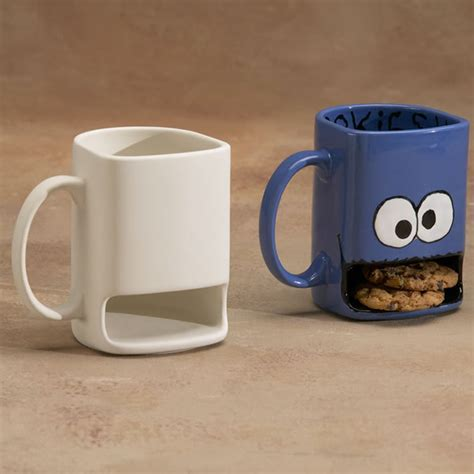 Dunker Mug by Un Painted Cookie Mug Cup You Paint It Bisque