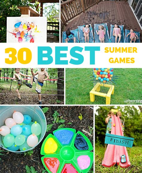backyard activities for kids 30 best outdoor summer games and activities for kids