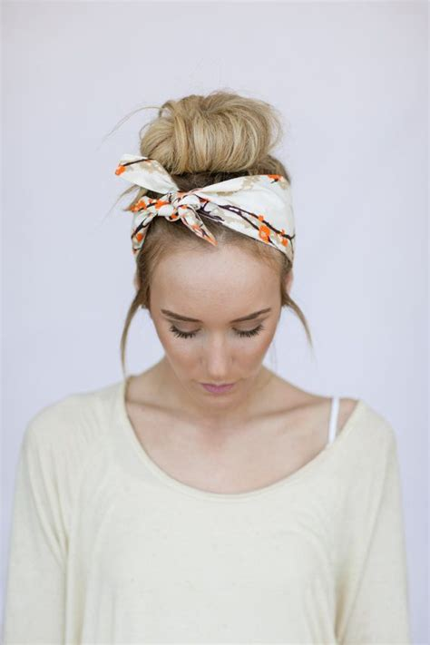 hairstyles with scarf headbands golden beach complex bun wrap scarfs and wraps