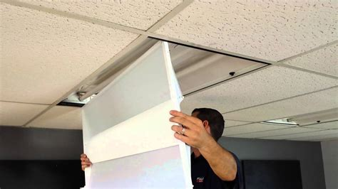 Suspended Ceiling Fluorescent Lights 10 Tips For Install Ceiling Lights