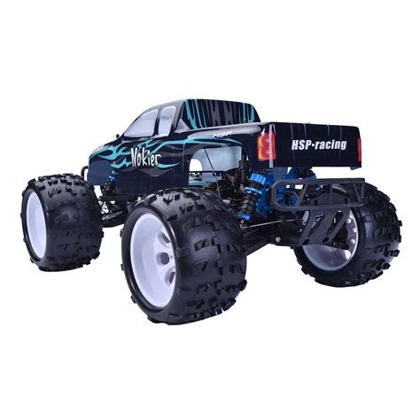 hsp nitro monster truck hsp 1 8 scale rtr 2 4ghz nitro 2 speed 4x4 rc car off road