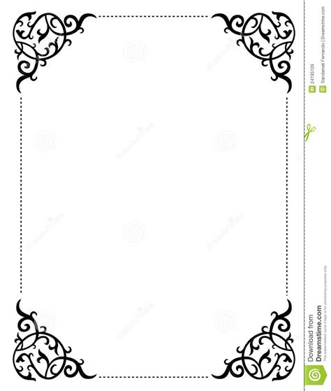 Free Printable Halloween Borders Invitations | free printable free wedding clip art borders frames