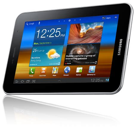 Samsung Tab Plus samsung galaxy tab 7 0 plus notebookcheck externe tests