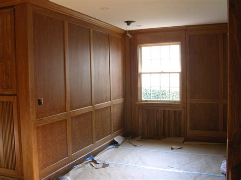 Paneled Rooms | english brown oak paneled room