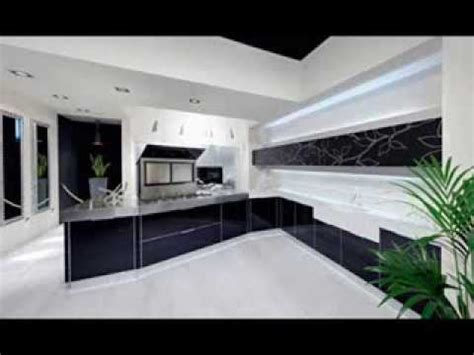 modern white  black kitchen design ideas