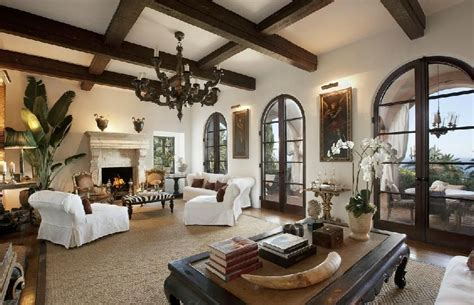 interior spanish style homes mediterranean style homes california coast mega