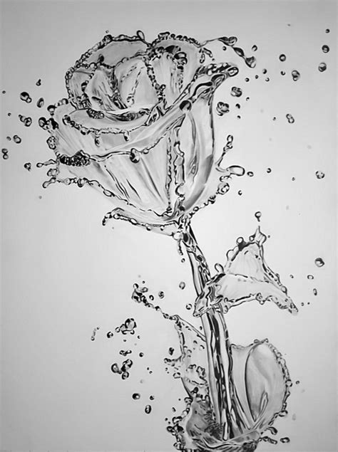 Drawing Water by 50 Amazing Pencil Drawings Hative
