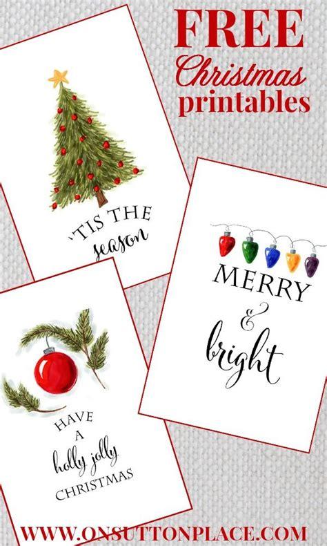 25 free christmas card printables the holiday helper best 25 printable christmas cards ideas on pinterest