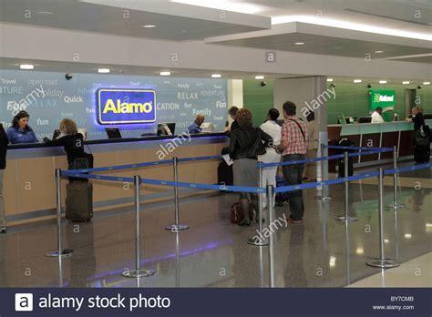 car rental counter stock  car rental counter stock