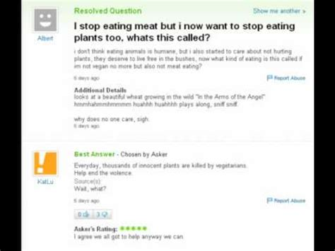 Worst Or Question The Worst And Saddest Of Yahoo Answers Updated