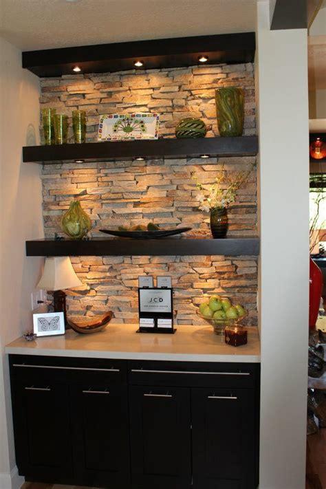 deeper base cabinet  counter  floating shelves