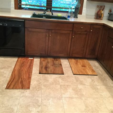 wood floor color selection