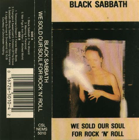 We Sold Our Soul we sold our soul black sabbath
