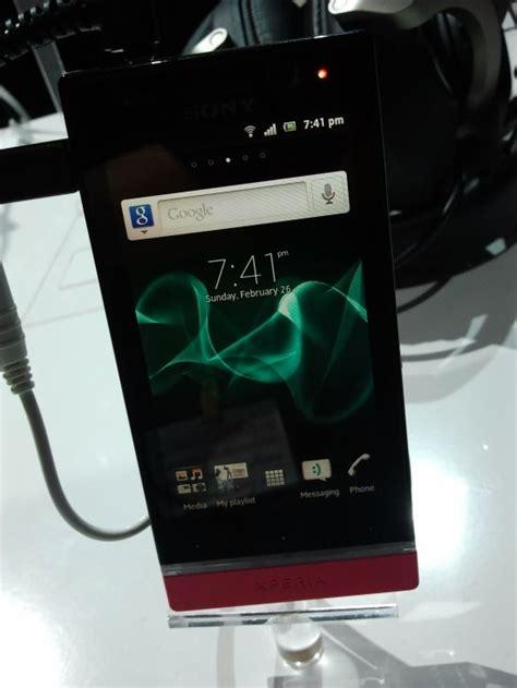 Hp Sony Xperia Di Hongkong sony xperia u foto e specifiche tecniche ufficiali