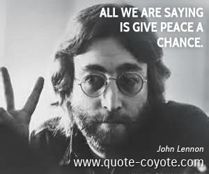john lennon      give peace  chance