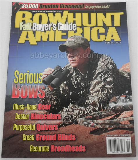 magazine bowhunt america special offer buy 3 magazines photograph
