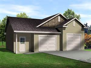 2 Car Garage Designs Two Car Garage With One Bay Tall Enough For An Auto Lift