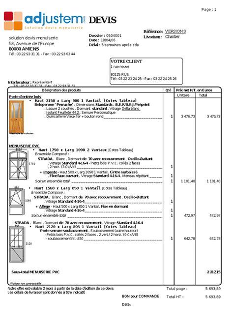 Demande De Devis Exemple 3258 by Trouver Exemple De Devis Avec Option