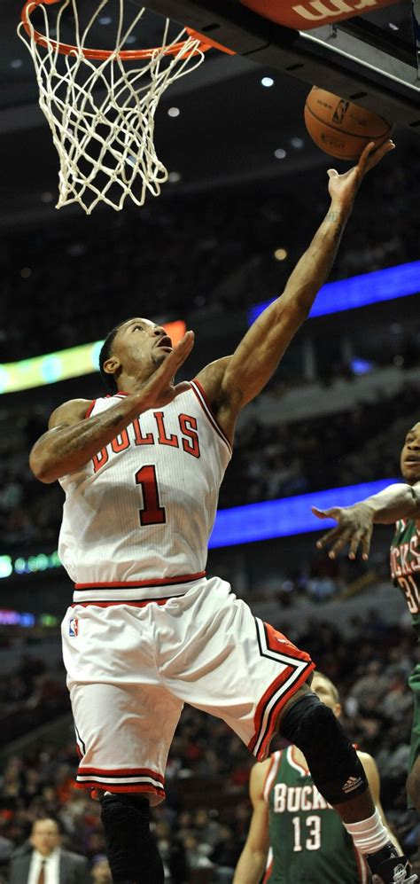 chicago bulls derrick rose      shot