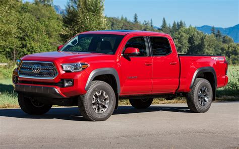 toyota tacoma trd  road double cab wallpapers  hd images car pixel
