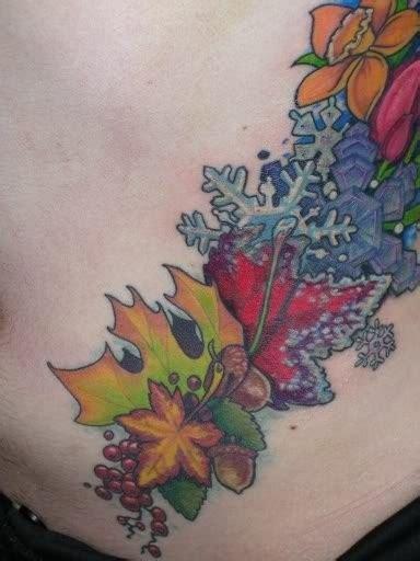 seasons tattoo seasons by tattoonow