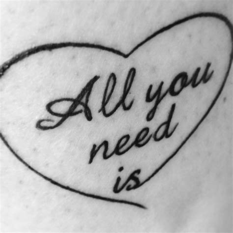 tattoo love is all you need 17 best tattoo love images on pinterest tatoos love