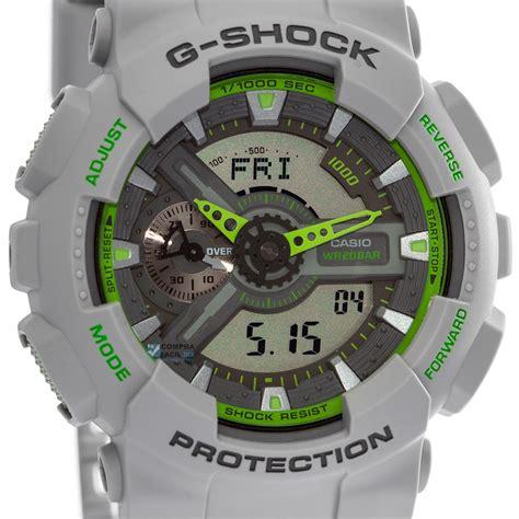 Casio Gshock Type Ga110 Water Magnetic Resist reloj casio g shock ga110 gris con verde resistencia magn 233 tica relojes casio en m 233 xico