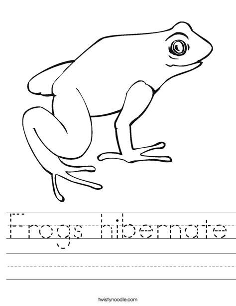 hibernation coloring pages preschool image gallery hibernating animals worksheet