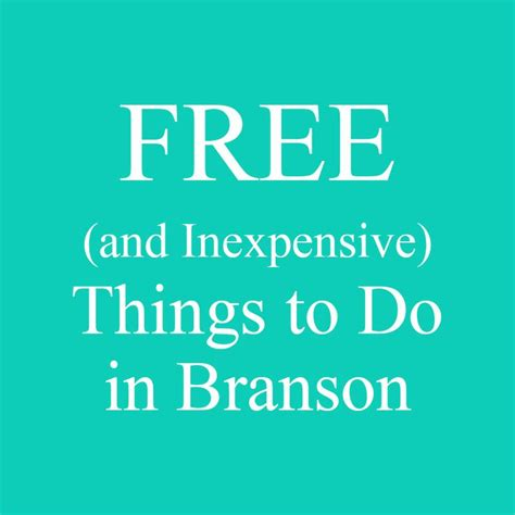 Things To Do In A Cabin by Free Things To Do In Branson Missouri When You Are On