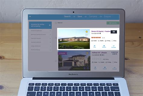 new website feature display home finder ibuildnew