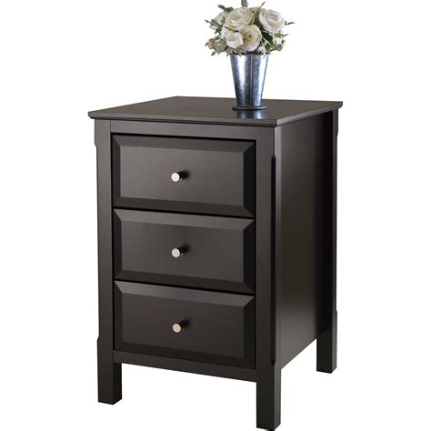 bedroom nightstands tall night stands glass nightstand on wheel using wooden