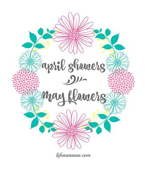 April Shower by April Showers Printable
