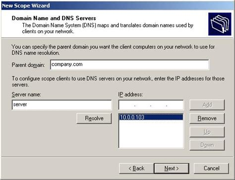 xp configure host image gallery xp dhcp server