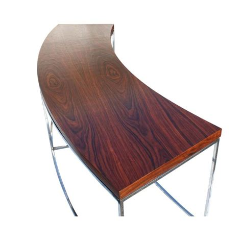 Curved Sofa Tables Milo Baughman For Thayer Coggin Curved Sofa Table Bench At 1stdibs