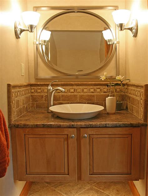 Bathroom Vanity Tile Ideas by Small Bathroom Remodeling Fairfax Burke Manassas Remodel