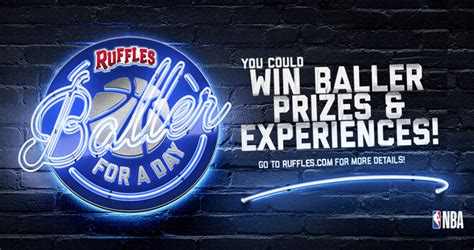 Sweepstakes A Day - ruffles baller for a day sweepstakes 2018