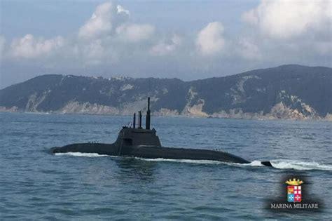 Romeo Navy fincantieri delivers submarine romeo romei to the italian navy