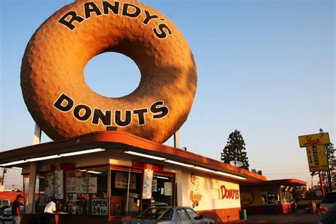 randy s randy s donuts eating the road