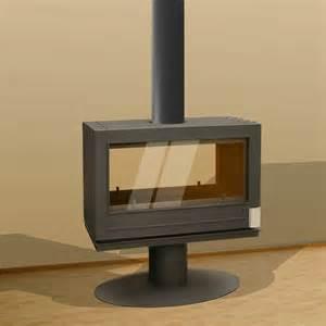 invicta nelson sided wood burning stove fireplace