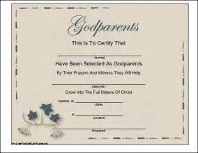 pics photos free printable godparents certificate welcome