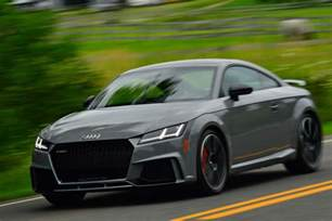 2018 audi tt rs drive review motor trend