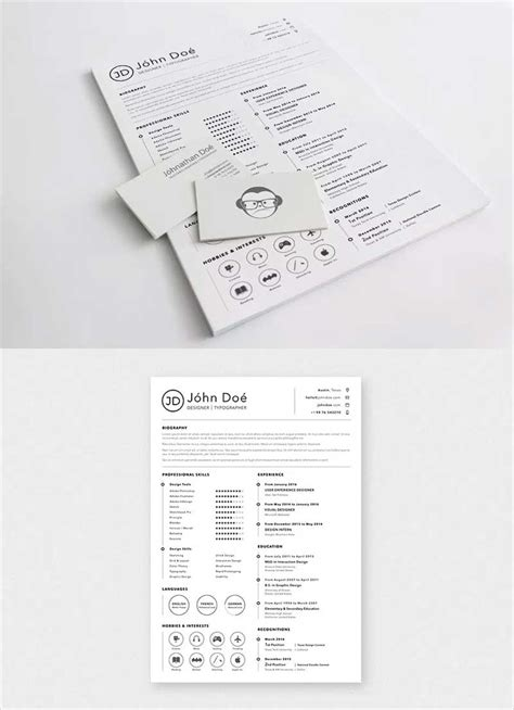 50 New And Trendy Free Cv Resume Design Templates For 2019 50 Graphics Sketch Resume Template