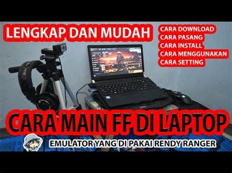 ldplayer emulator terbaik  main ff  laptop teknodiary