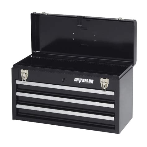 3 Drawer Portable Tool Chest by Waterloo Mp 2012bk Portable Series 3 Drawer Portable Tool
