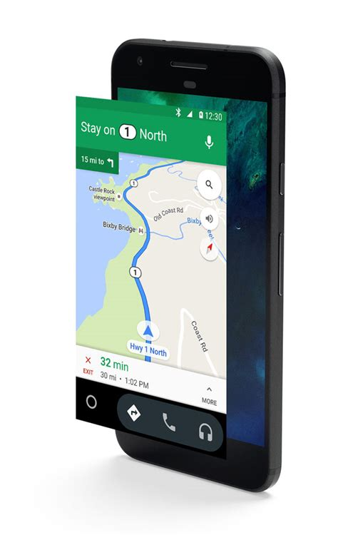where is my phone android android auto