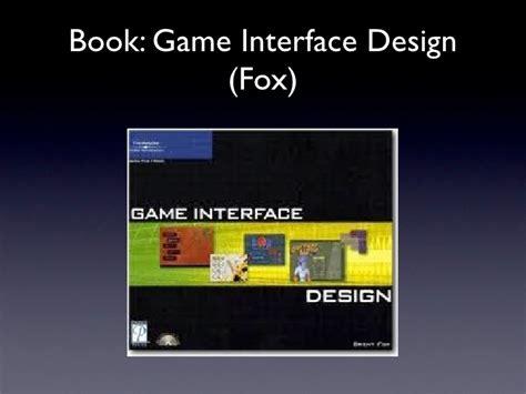game design lecture game design 2 2010 lecture 2 menu flow