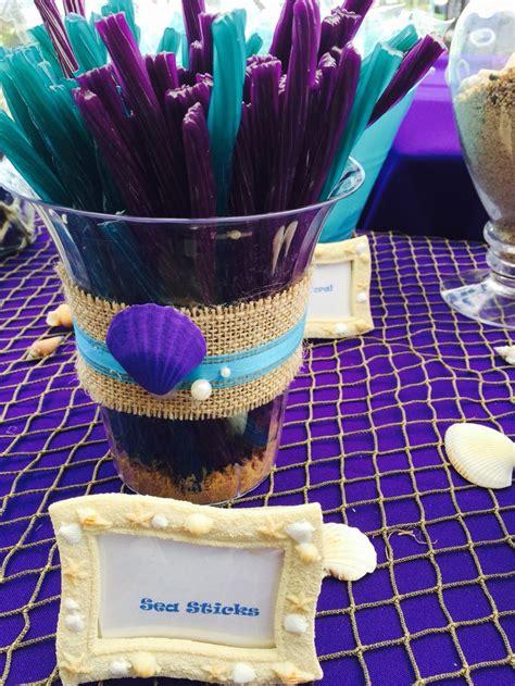 the sea mermaid table laniisthree lanis 3rd bday table