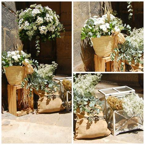 decoracion boda rustica decoraci 243 n floral para una boda r 250 stica decoraci 211 n floral